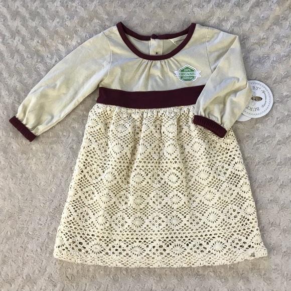 NWT Burt's Bees Baby Dress